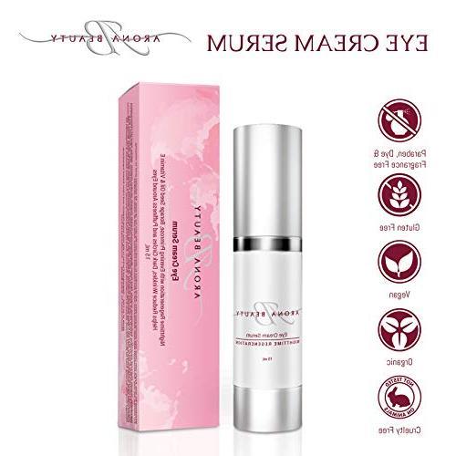 Eye Serum, Anti Aging Cream, Anti Wrinkle Cream - Organic Ey