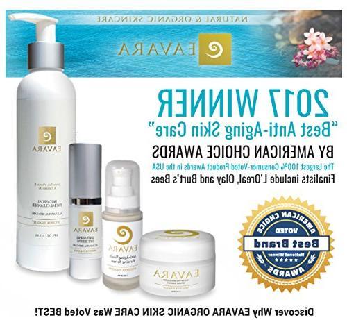 Organic Winning Anti Aging | Organic Jojoba Best Under Skin & Solution for Dark Circles, Fine Wrinkles |