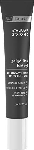 Paula's Choice RESIST Anti-Aging Eye Gel w/Hyaluronic Acid,
