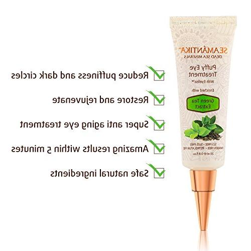 Puffy Eye results Eliminate Wrinkles, Puffiness, Dark and Minutes – Cream w/Green Sea – oz