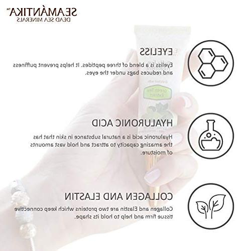 Puffy Treatment results Wrinkles, Puffiness, and in – Hydrating w/Green Dead Sea by – oz