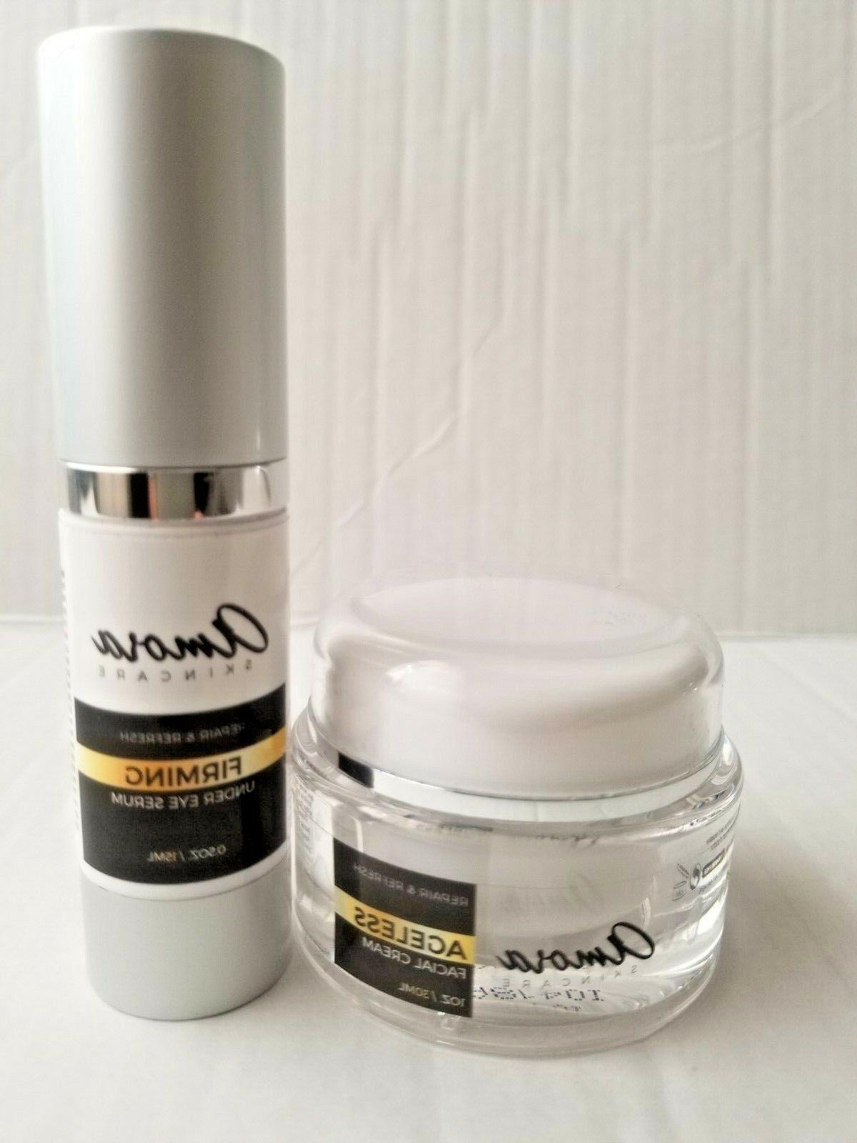 Amora Skincare Ageless Facial Cream and Firming Under Eye Se