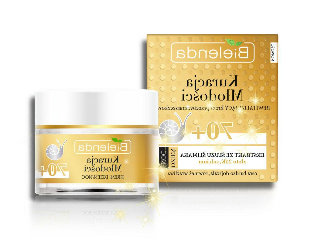 Bielenda Eye Cream + Face cream Snail ,24K Gold