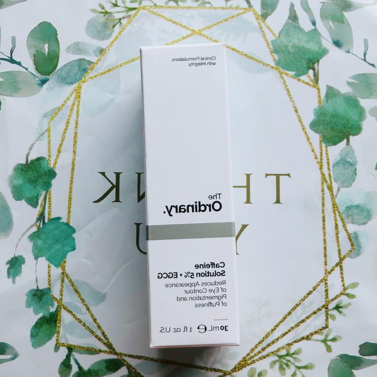 THE 5% EGCG - 30ml New in Box with Receipt