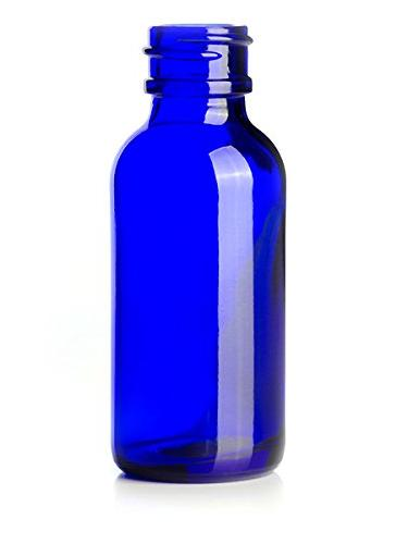 Cobalt Glass Bottles Eye Droppers Oils, Highest Blank Included