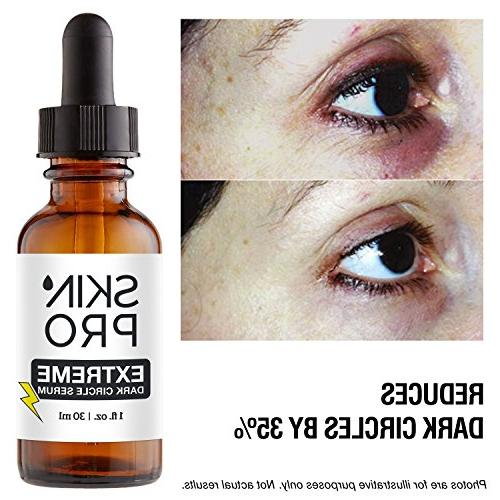 SkinPro Extreme Under Eye Serum 35% Reduction Circles Under & Eye | Grade Regu-Age Patented