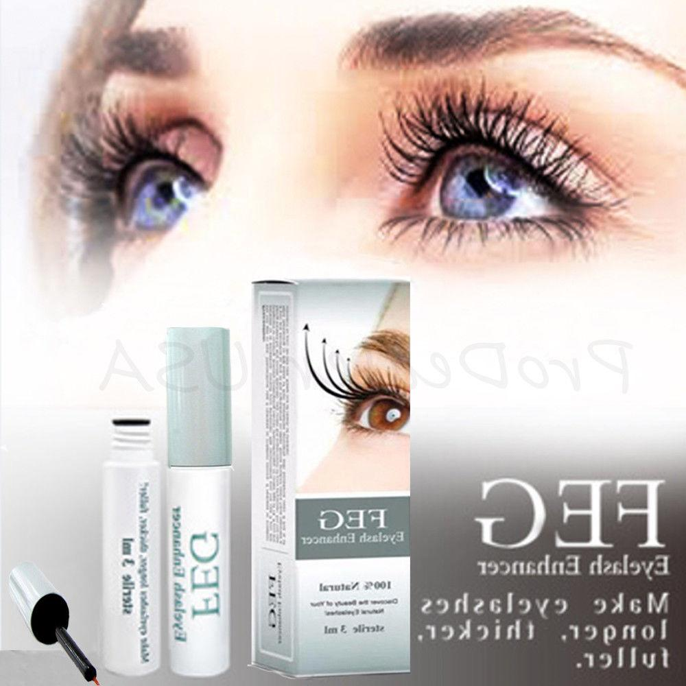 FEG Eyelash Enhancer Rapid Growth Serum ~100% Natural~USA