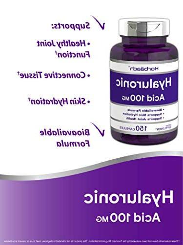 Horbaach Acid mg 150 Capsules Supports Hydration Non-GMO