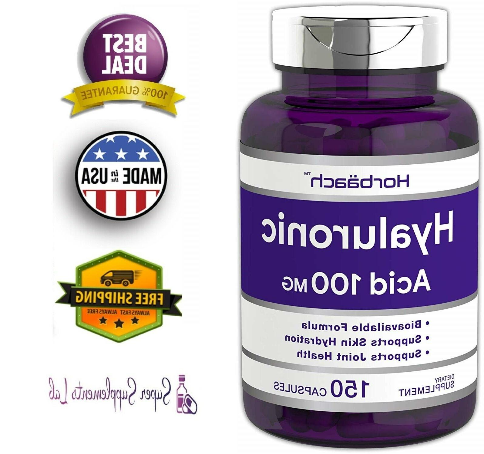 horbaach hyaluronic acid supports joint