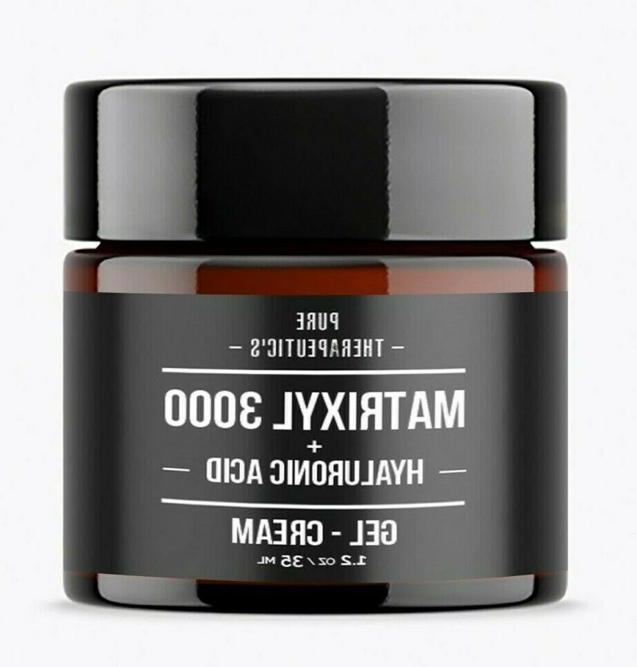 Hyaluronic Acid Matrixyl 3000 Peptide Face & Eye Wrinkle Serum