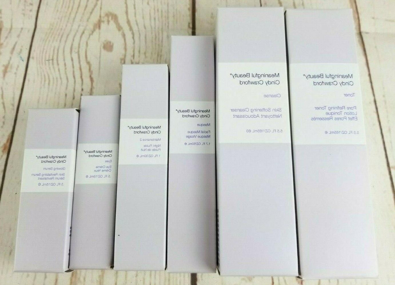 lot of 6 pieces toner cleanse masque