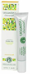 Andalou Naturals Luminous Eye Serum 0.6 oz Liquid Brightenin