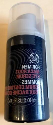 The Body Shop For Men Maca Root Eye Rescue Serum 0.5 Fl oz