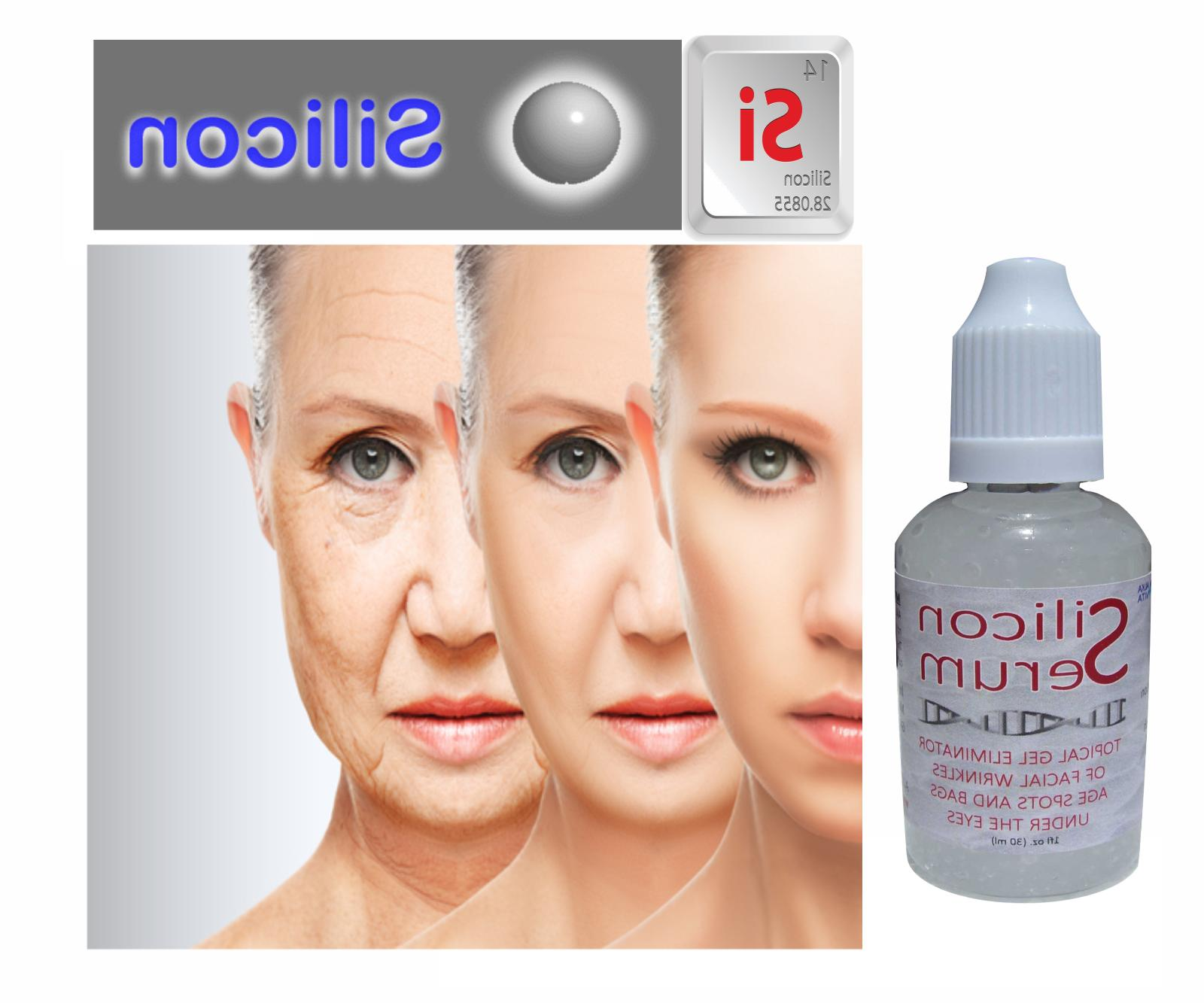 MINERAL SILICON Skin Facial Aging Lines Bags Under