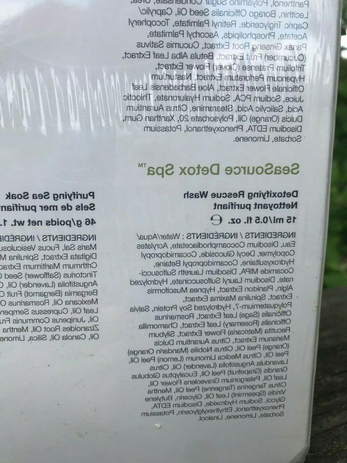 Arbonne NutriMinC RE9 Products Wash Creme Serum Detox Spa