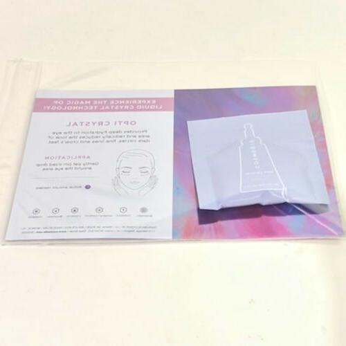 opti crystal liquid crystal eye serum samples