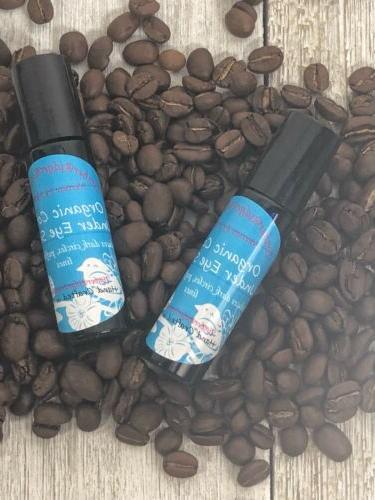 Organic Coffee Under Eye Serum, great for puffy under eyes a