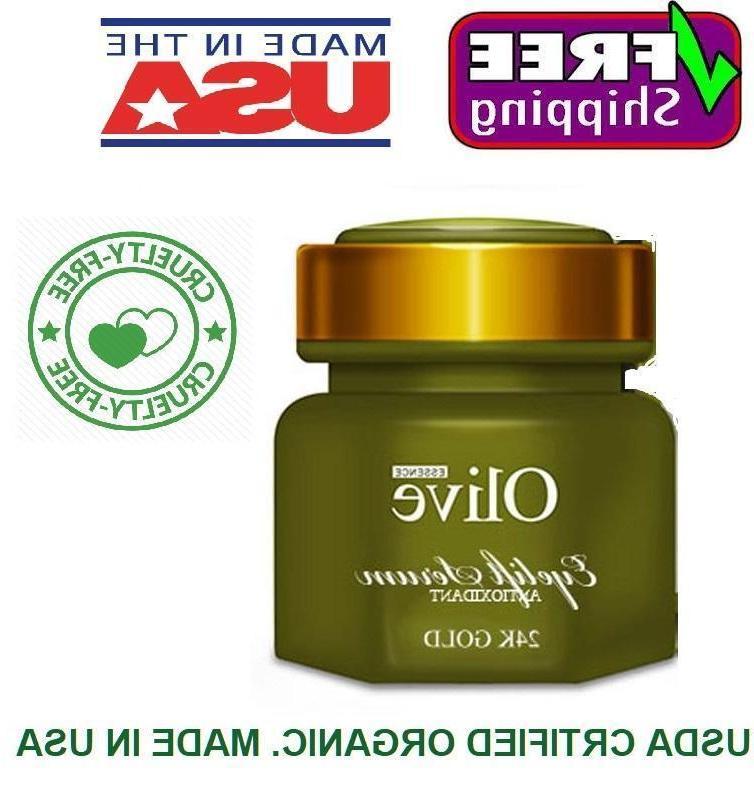 Organic Serum Skin Toner USDA Certified Gold Cruelty Free