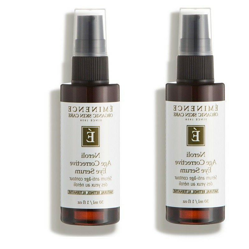 organic skincare neroli age corrective eye serum