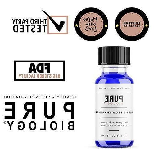 PURE - Premium Eyelash Eyebrow Enhancer