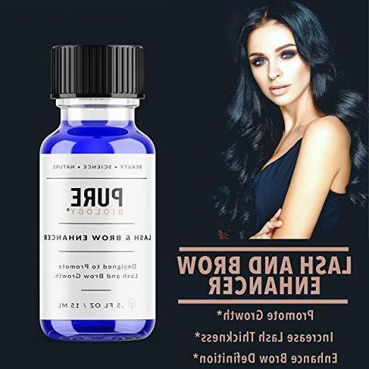 PURE BIOLOGY Premium Eyelash Growth Serum & Eyebrow