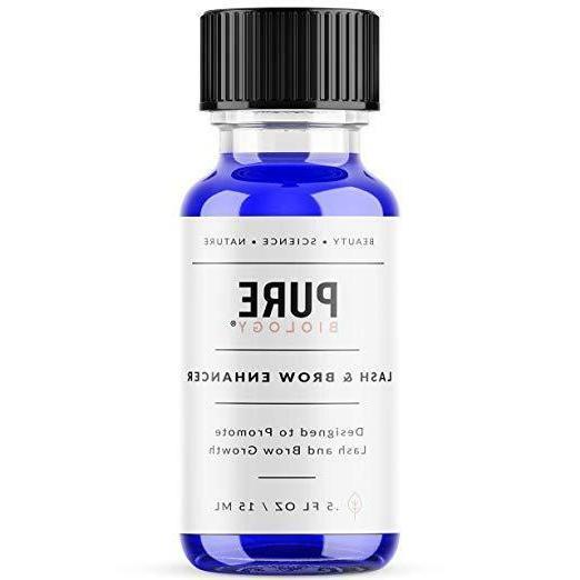 premium eyelash growth serum and eyebrow enhancer