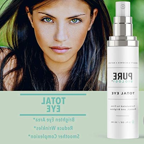 Premium with E, Hyaluronic Anti Aging Complexes Reduce Dark Under Bags, & Lines Men & Women