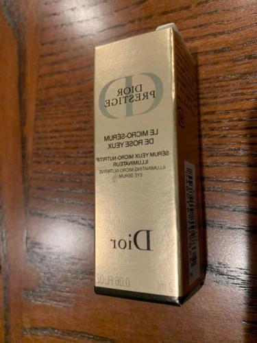 Dior Mini La Creme 5ml/Eye Cream 3ml/Eye Serum Sample Size
