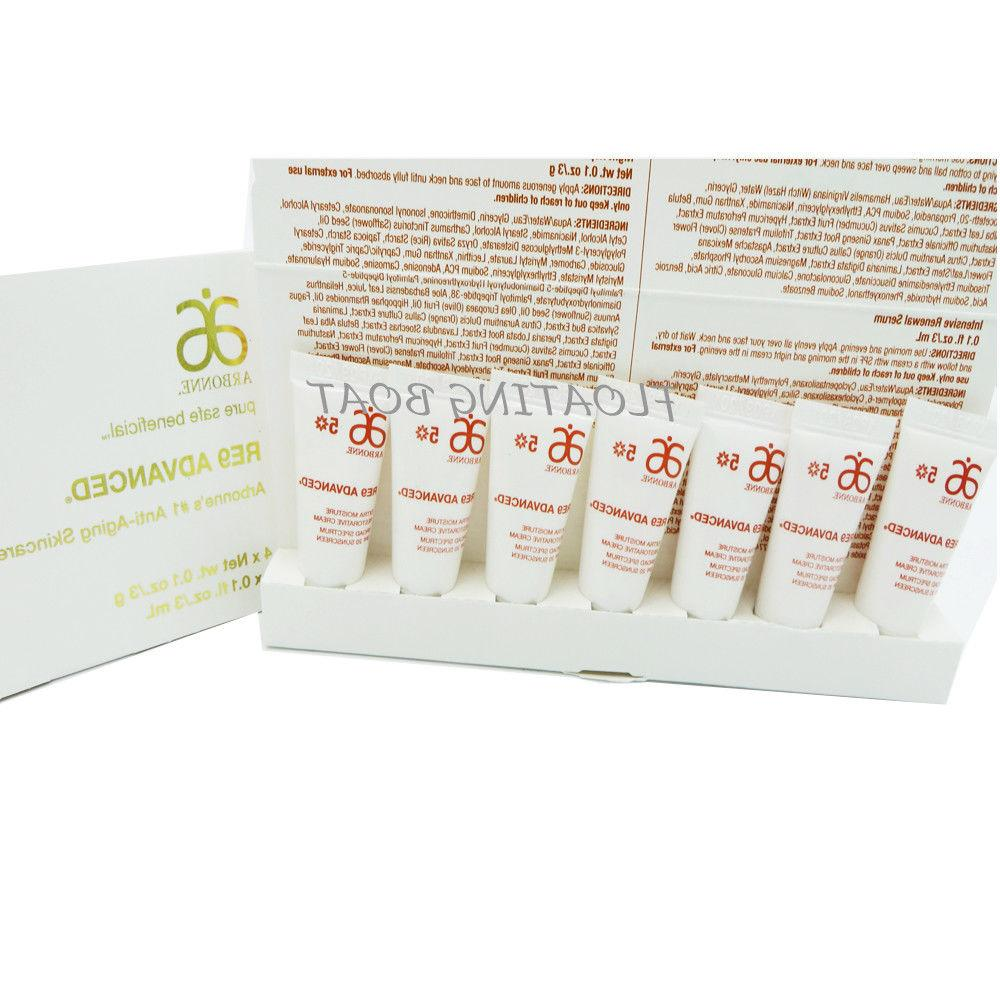 Arbonne Skin Set Serum Night Toner