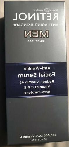 Skincare Cosmetics RETINOL MEN Facial Serum 1oz/30ml SEALED