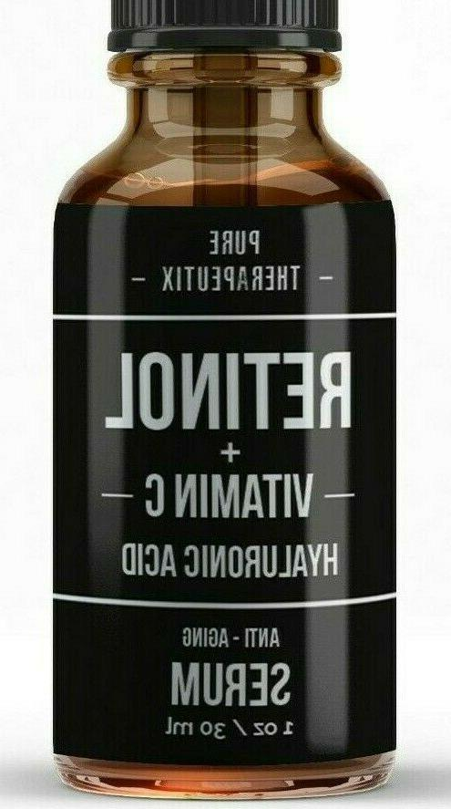 retinol vitamin c and hyaluronic acid anti