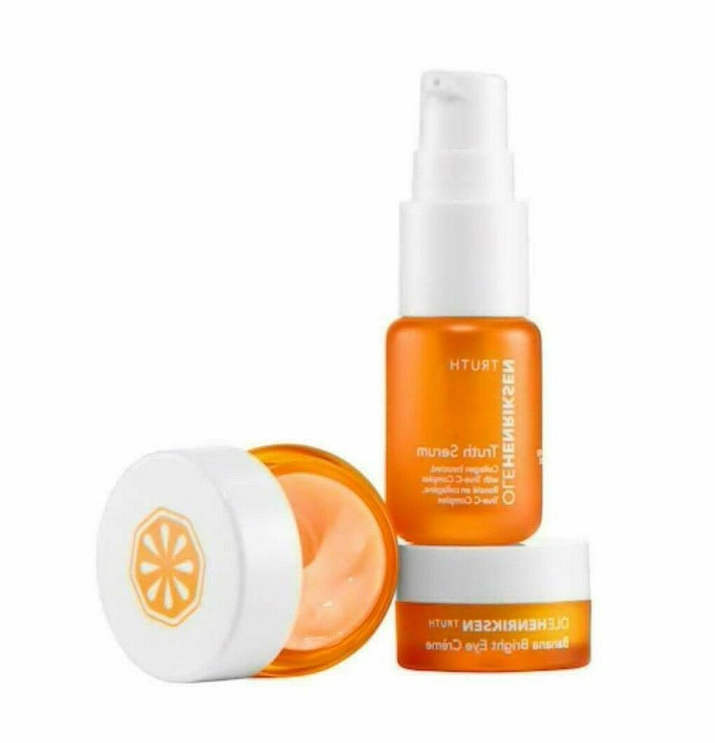 set banana eye cream truth serum c