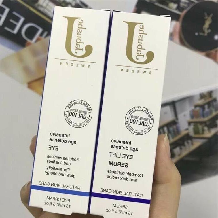 Sweden Jabushe Eye Cream 15ml + Eye Lift Serum 15ml Combo Fr