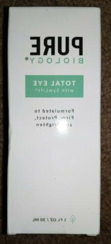 Pure Biology Total Eye Anti Aging Eye Cream Serum Anti-Aging