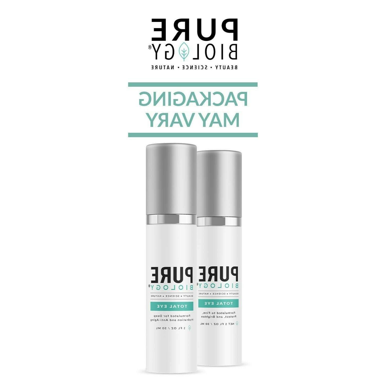 Pure Biology Total Cream Anti-Aging Reduce Dark Circles