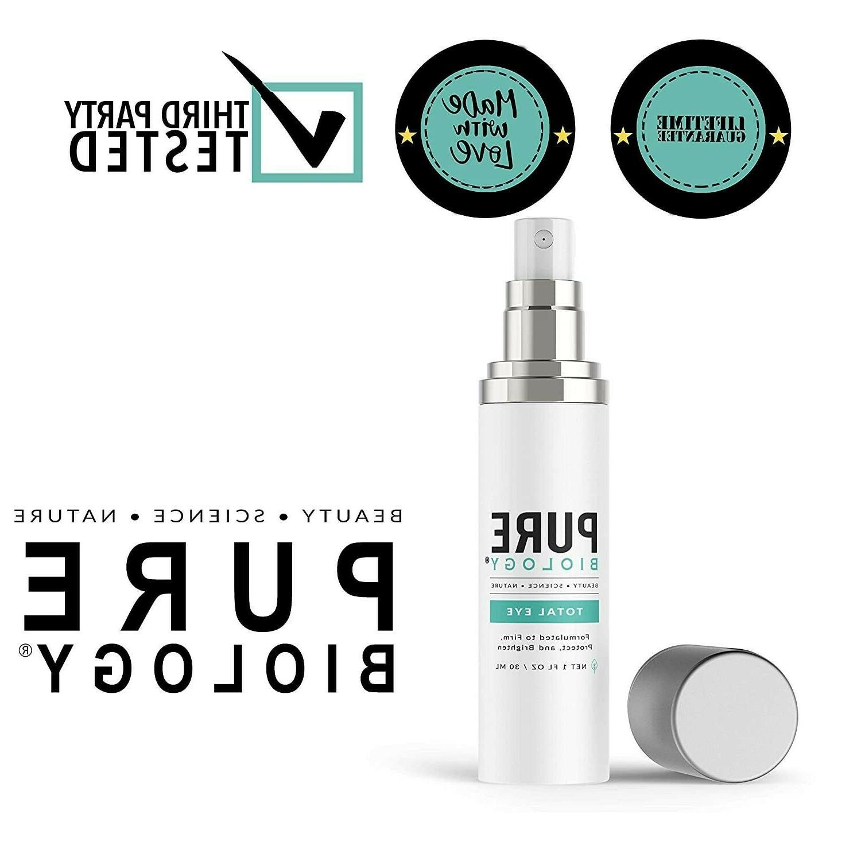 Pure Biology Eye Cream Serum Anti-Aging Dark