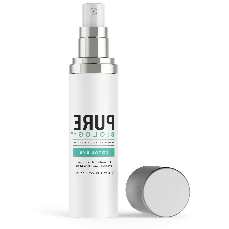 total eye cream serum anti aging reduce