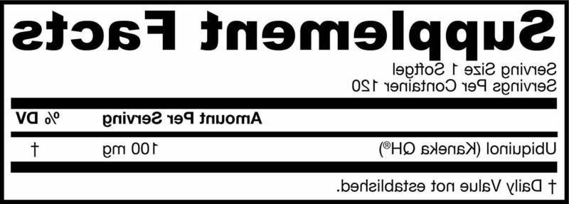 Jarrow Formulas Ubiquinol QH-Absorb, High Absorption/Enhanced Stability, 100 mg