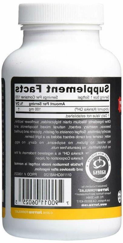 Jarrow Ubiquinol High Absorption/Enhanced mg