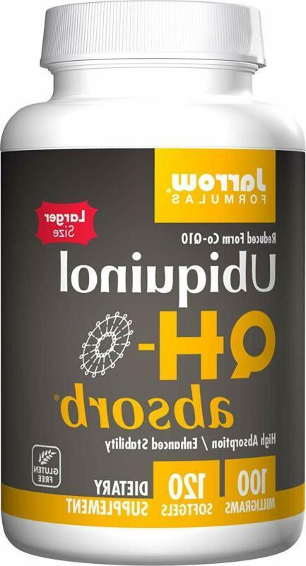 ubiquinol qh absorb high absorption enhanced stability