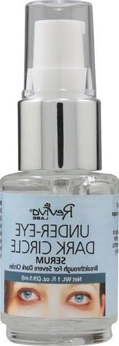 Reviva Labs Under Eye Dark Circle Serum -- 1 fl oz - 2pc