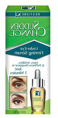 Under Eye Firming Serum 0.23 ounce Lines Wrinkles Puffiness