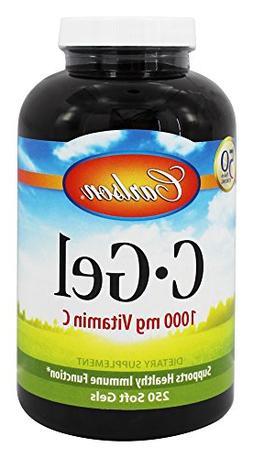 Carlson Labs - C-Gel Vitamin C 1000 mg. - 250 Softgels