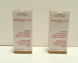 Lot of 2 Clarins Enhancing Eye Lift Serum Boxed New Made in