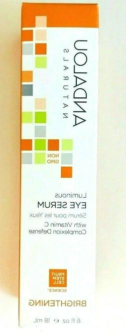Andalou Naturals Luminous Eye Serum with Vitamin C Complexio