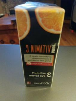 MEN Vitamin C Anti PUFF Eye Serum SPA PHARMA New & Sealed