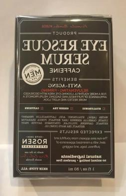 Rosen Apothecary Men's Eye Rescue Serum Caffeine Rejuvenat