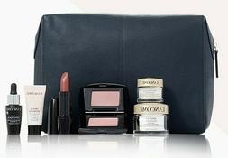 NEW LANCOME 7Pc GWP~ Eye Cream, Moisturizer, Blush, Lipstick