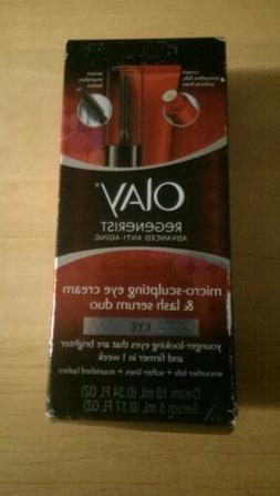 Olay Regenerist Micro-Sculpting Eye Cream and Lash Serum Du