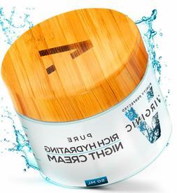 Night Face Cream For Wrinkle Deep Moisturizer Anti Aging Eye